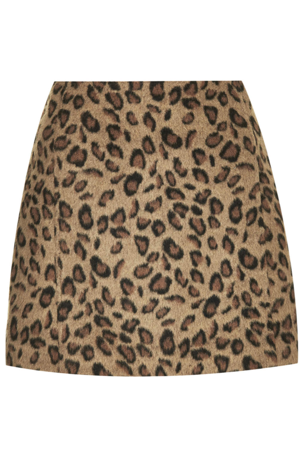 leopard mini skirt Topshop