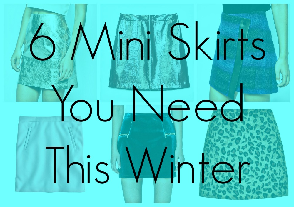 winter mini skirts