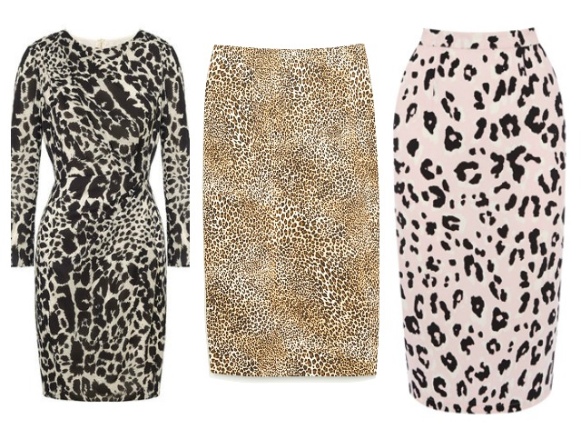 winter prints leopard