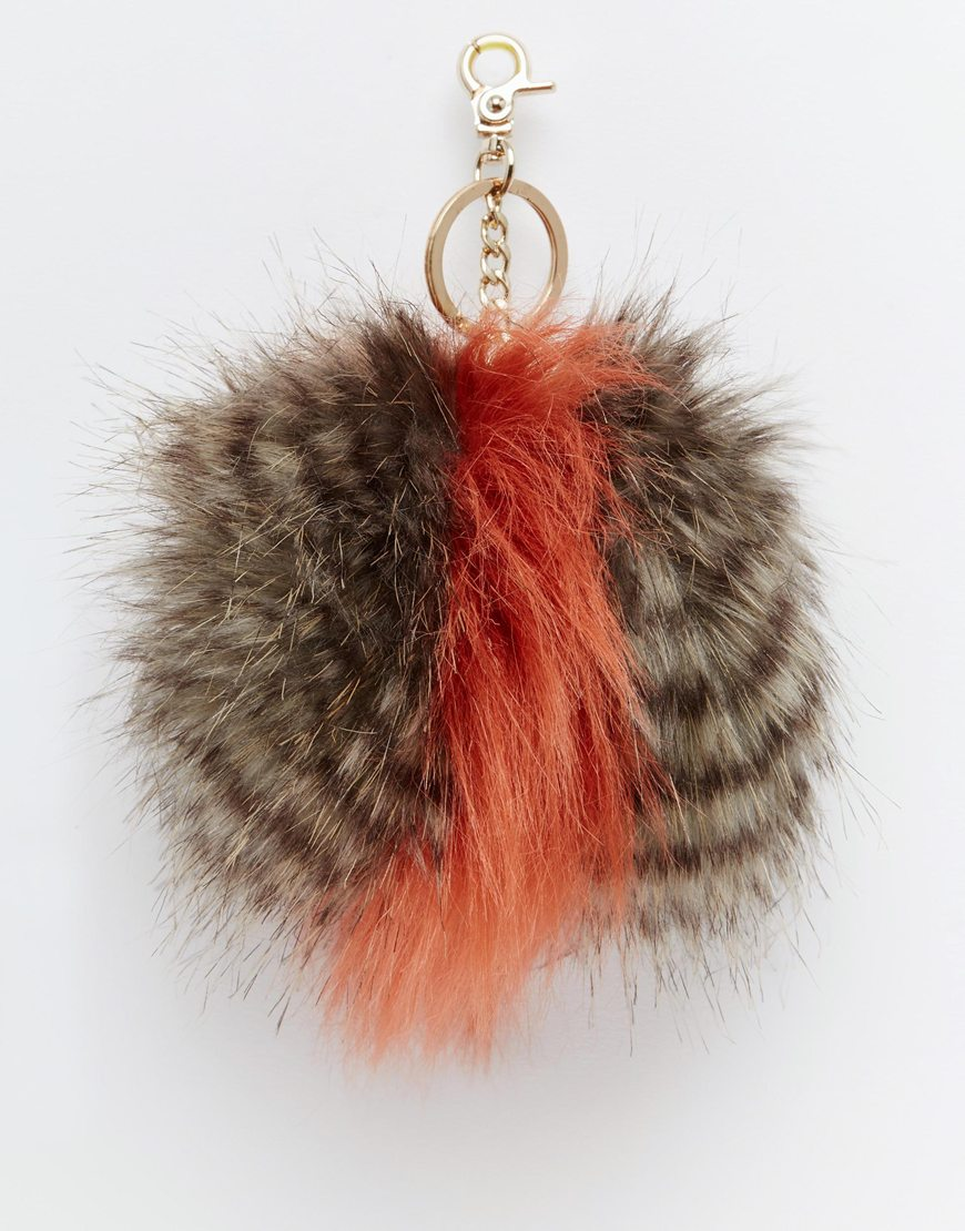 Fluffy bag charm Urban Code