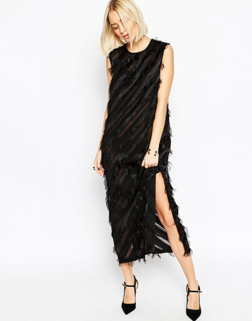 asos-white-fringe-dress