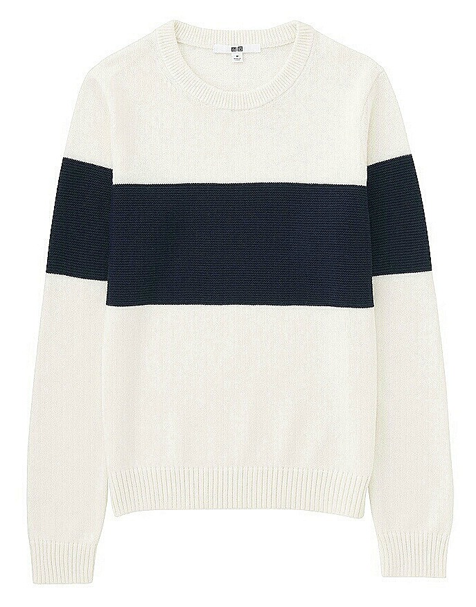 Colour Block Jumper Uniqlo