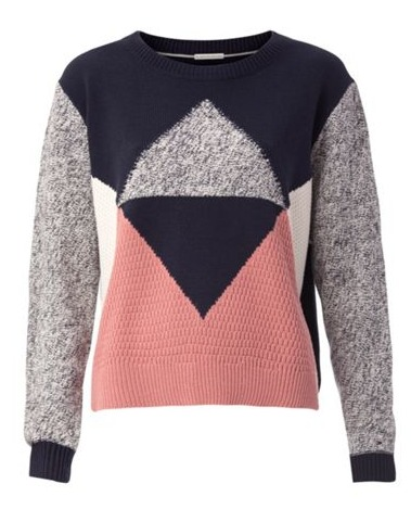Colour block jumper Tommy Hilfiger
