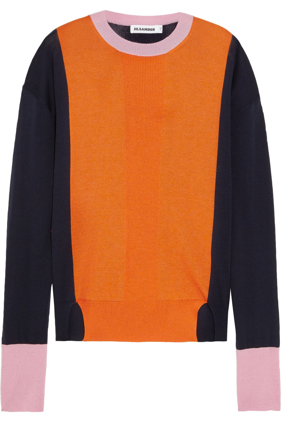 Colour block jumper Jil Sander