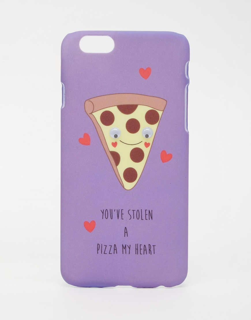 heart pizza iPhone case